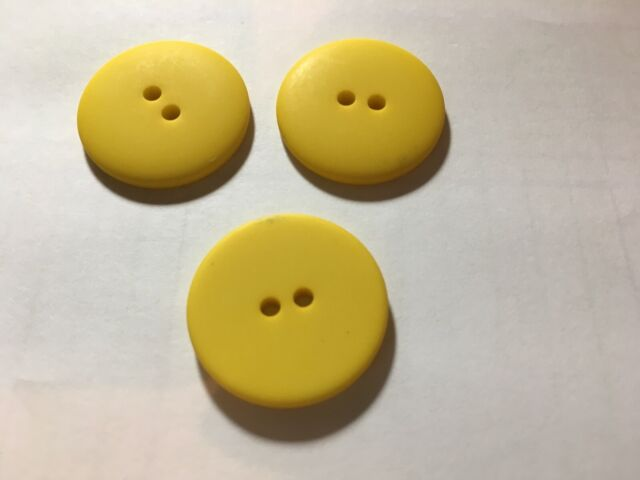 25 NEW 1 INCH DULL FINISH   GREEN  BUTTONS
