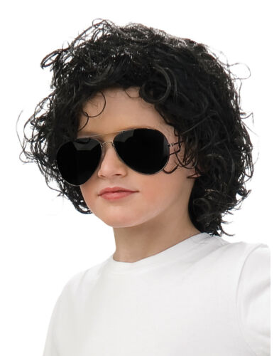 Michael Jackson Child Curly Wig