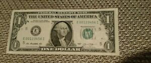1-00-2013-E-00123456-Federal-Reserve-Note-034-Fancy-Numbers-FRN-LADDER