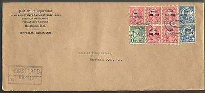 US Stamp Scott  # 647 & 648 on First Day on 1928 cover - Very Nice!