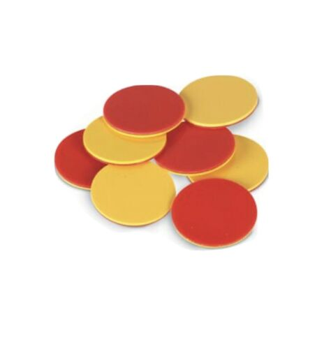 Yellow And Red Double Colour Coin Football Referee Coin Toss Flip 5 Pack