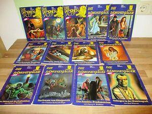 13-Hefte-Die-Daemonenjaeger-Nr-2-17-Romane-Milton-Verlag-1990-1991