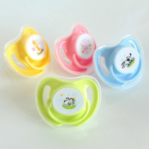 Silicone Baby Orthodontic Pacifier Dummy Teat Nipple Dummy Soother lskn Lizzj