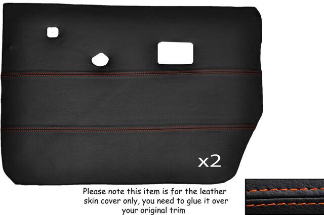 BLACK STITCH DASH DASHBOARD LEATHER SKIN COVER FITS HUMBER SCEPTRE MK1