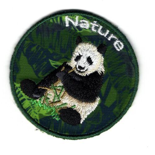 Ecusson Thermocollant Panda Nature 5 x 5 cm REF 3652