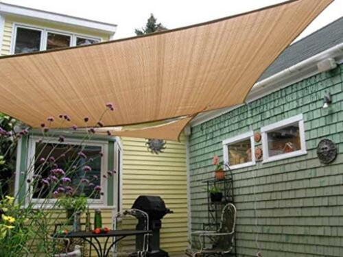 Shade&Beyond 7'x13' Sun Shade Sail Rectangle Canopy Sail Sun