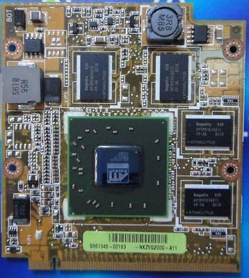ATI 3650 mobility laptop videocard Acer VGA MXM VG.86M06.002 8600M 8400M 7720G