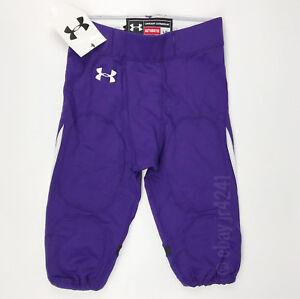 New-Under-Armour-Renegade-Football-Game-Pant-Men-039-s-L-Purple-Northwestern