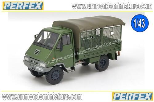 PE 722-1//43 Renault B110 4X4 MO Transport De Troupes Gendarmerie Kaki PERFEX