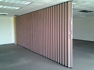 Image Is Loading Modernfold Accordion Wall Parion Sliding Retractable Room Divider