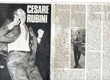 MA132-Clipping-Ritaglio 1975  Cesare Rubini -basket