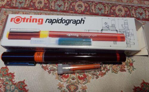 rotring rapidograph 1,0