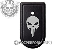 for Springfield Armory XDS 9mm 45ACP Magazine Mag Plate BK NDZ Skull 1