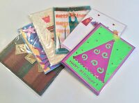 Handcrafted Greeting Cards - Birthday - 6 Cards