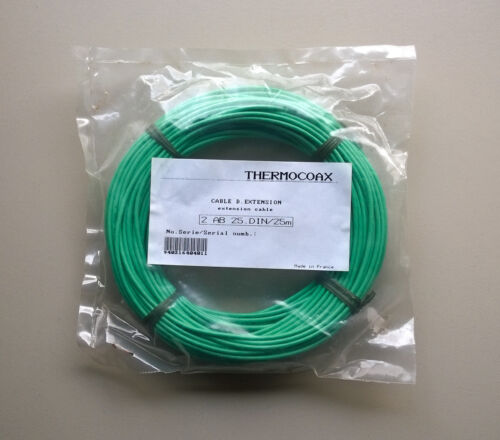 Thermocoax 2 AB 25.DIN//25m Extension Cable Kabel