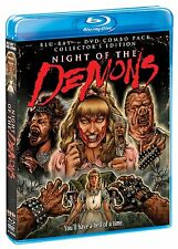 NIGHT OF THE DEMONS (1988 Collector's Edition)  -  Region A   - BLU RAY - Sealed