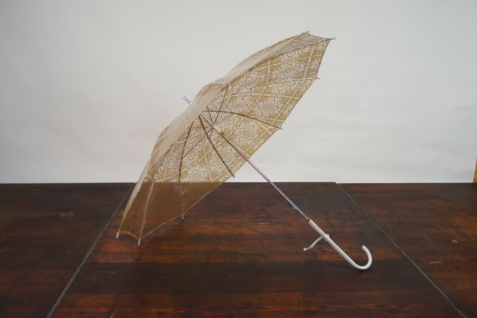 70er True Vintage Umbrella Retro Sunshade Umbrell… - image 2