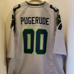 Details about PUGERUDE SEATTLE SEAHAWKS NFL CUSTOM AUTHENTIC NIKE JERSEY ADULT XXL 1 OF 1