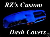 1990-1991 Ford Crown Victoria Dash Cover Mat Dashmat Black Blue Gray Tan