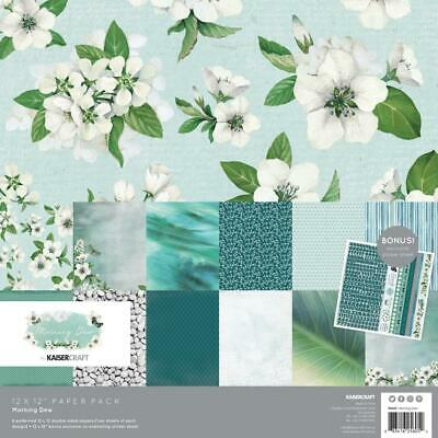 MORNING DEW Collection 12X12 Scrapbooking /& Paper Crafting Kaisercraft PK605 New