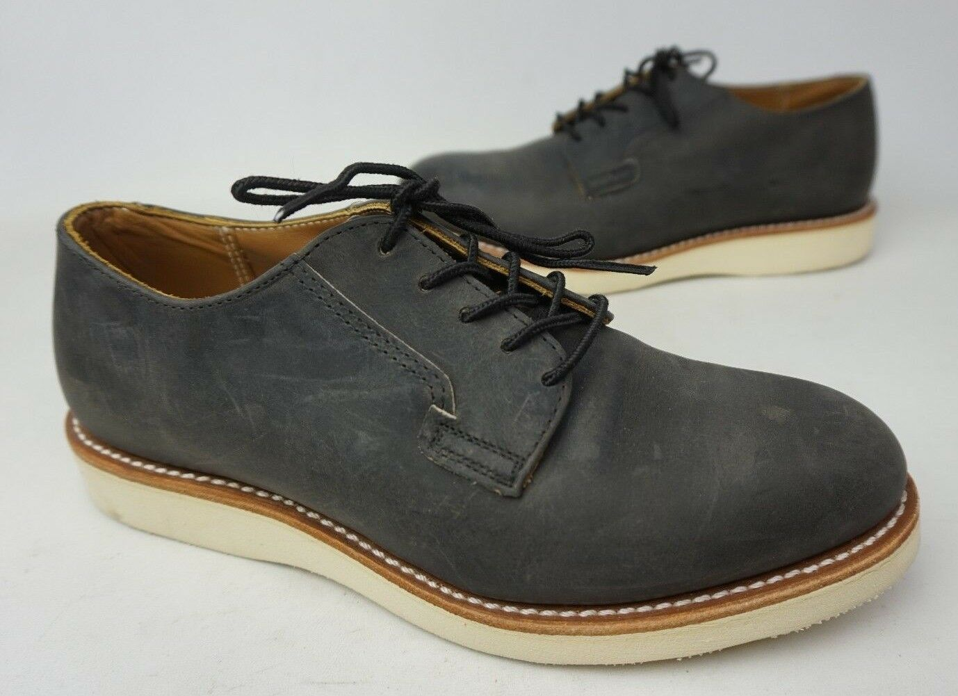 Red Wing Postman 3103 Oxford Antracite pelle USA 7.5 D
