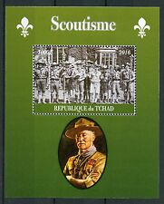 Chad 2016 CTO Scouting 1v M/S Scoutisme Scouts Baden-Powell Stamps