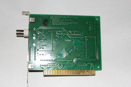 Tiara Arcnet Card XT bus 8 bit NEW coax//BNC SMC chip GUARANTEED to work for you