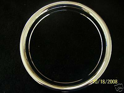 "16 Steel Wheel beauty trim Ring Chevy Ford GM GMC Dodge Single 16/"" Scratch Dent"