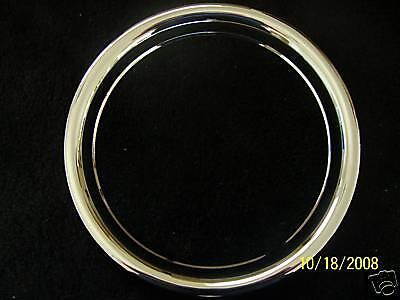 "16 Steel Wheel beauty trim Ring Chevy Ford GM GMC Dodge Single 16/"" Scratch Dent"