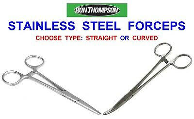 """8/"""" STRAIGHT FORCEPS GAME SEA COARSE FISHING S-STEEL DISGORGER UNHOOKING PLIERS"""