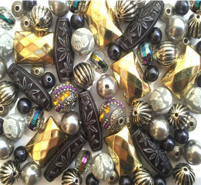 Mixed jewellery making beads Necklace Bracelet