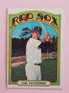 1972 Topps Baseball Set Break #37 Carl Yastrzemski VGEX HOF Boston Red Sox
