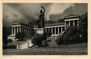 Munich, Bavaria Avec Panthéon, Environ 30er Ans-afficher Le Titre D'origine