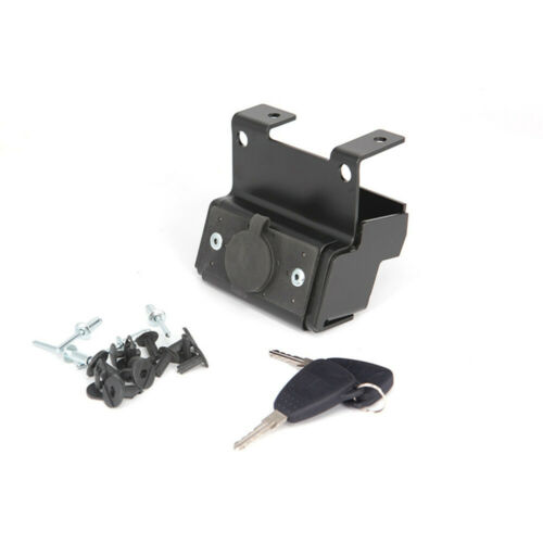 Black Hood Lock Kit with key For 2018 Jeep Wrangler JL Unlimited 2 Door 4 Door
