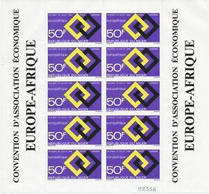 NIGER 1969 6 Jahre Europäisch-Afrikanische Wirtschaftsgemeinschaft EUROPAFRIQUE