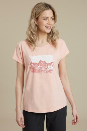 Mountain Warehouse Wms Wander Often Printed Womens Tee Tshirt