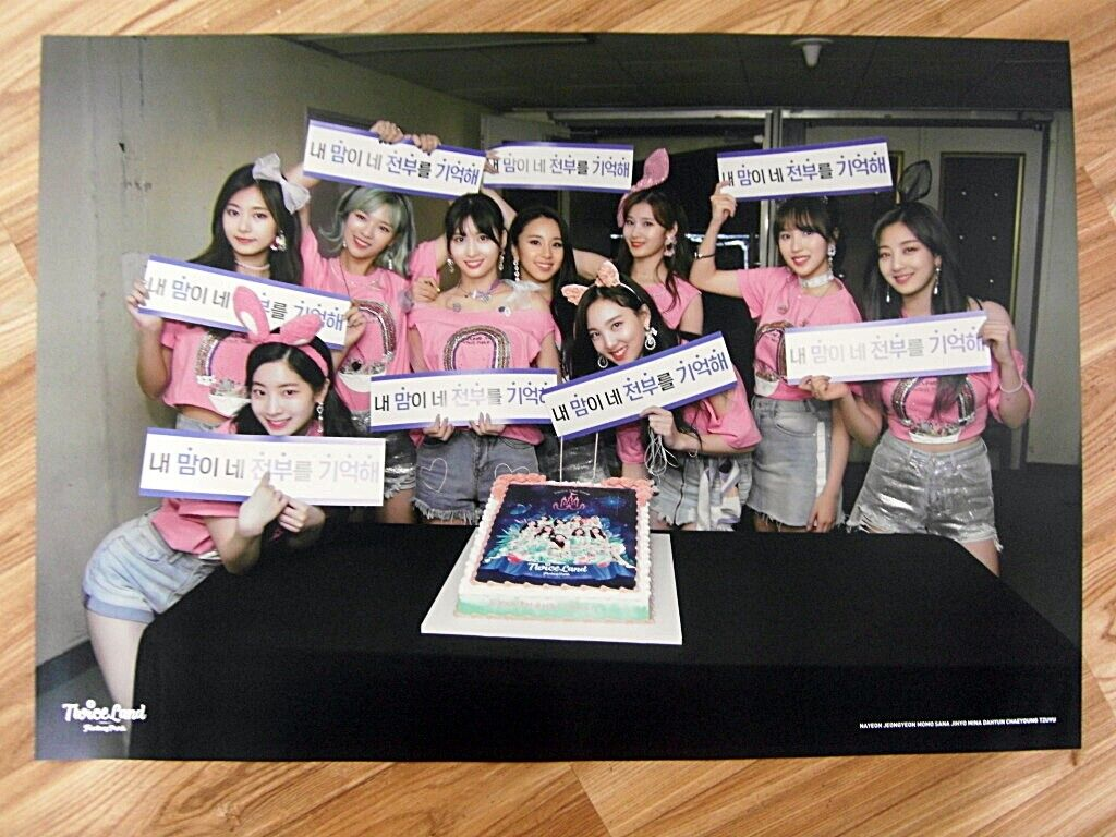 twice twiceland zone 2 fantasy park original poster new k pop ebay ebay