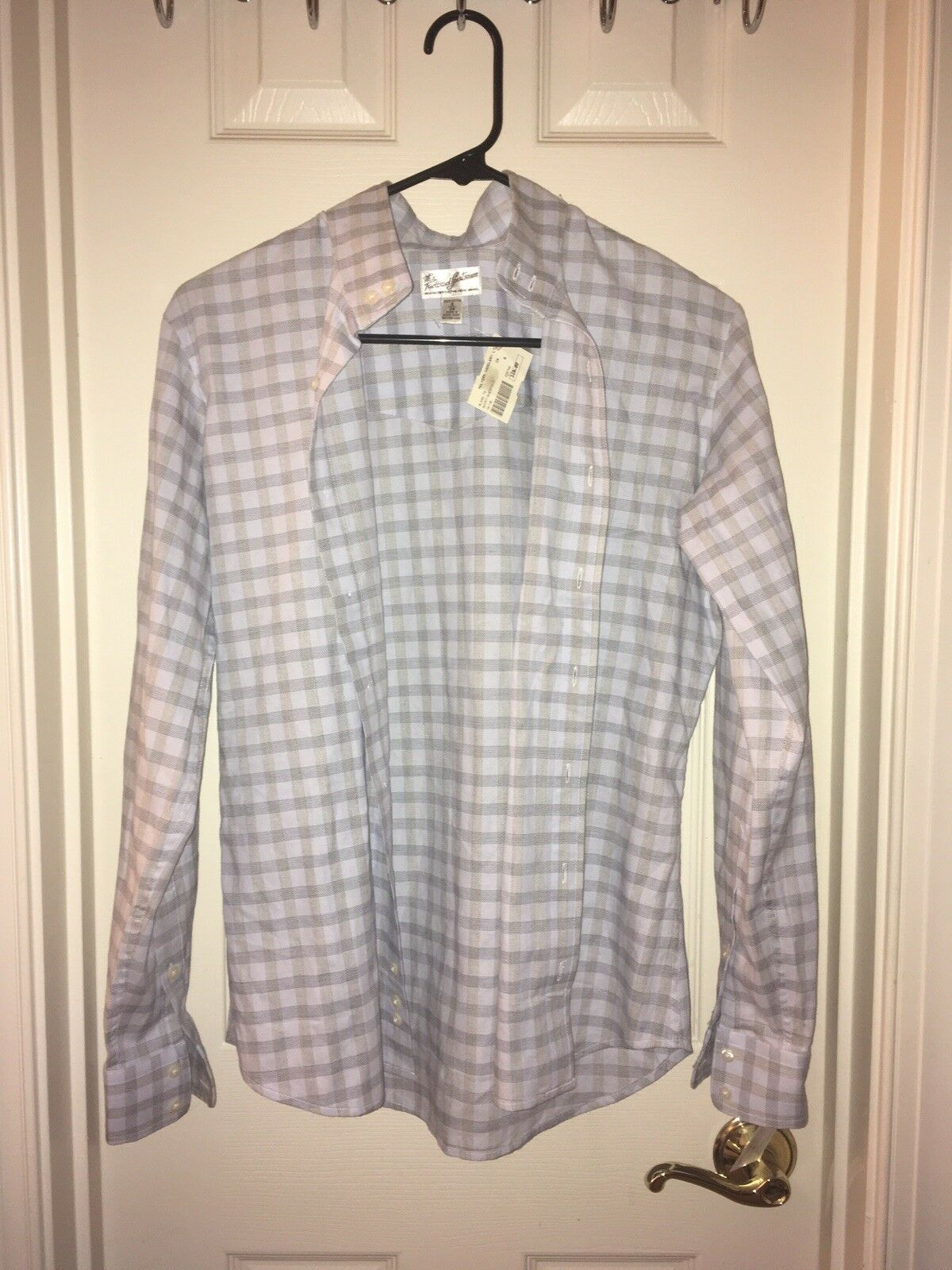Tailored Sportsman 34 6 Ladies Women Show Shirt bluee Nwt   110 Taupe Hunt Horse  best offer