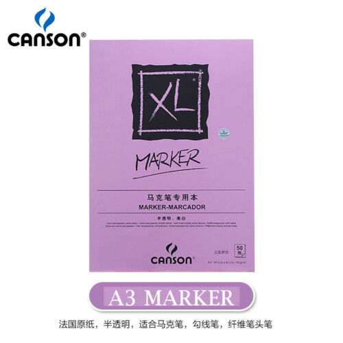 Canson XL Mix Media//Marker//Sketch//Dessin Pads Side Wire Notebooks  Drawing Paper