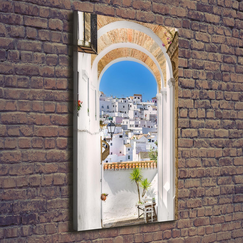 Leinwand-Bild Kunstdruck Hochformat 70x140 Bilder Andalusien Spanien