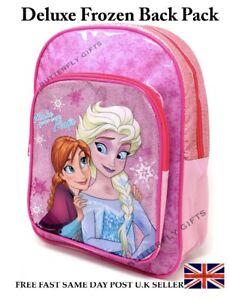 De-Lujo-Disney-Frozen-II-Mochila-Morral-Viajar-Escuela-Bolsa-De-Transporte-Anna-Elsa