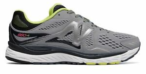 New-Balance-Men-039-s-880v6-Shoes-Grey-with-Navy-amp-Green