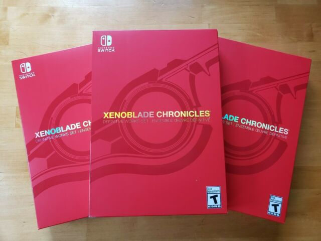 Xenoblade Chronicles Definitive Edition Works Set Nintendo Switch