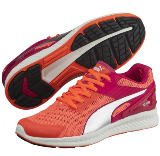 Femme PUMA IGNITE V2 RUNNERS RUNNING LADIES WALKING Chaussures Chaussures NEW ROSE RED