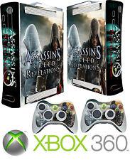 Xbox 360 Console Sticker Skin Assassins & 2 X Controller Skins