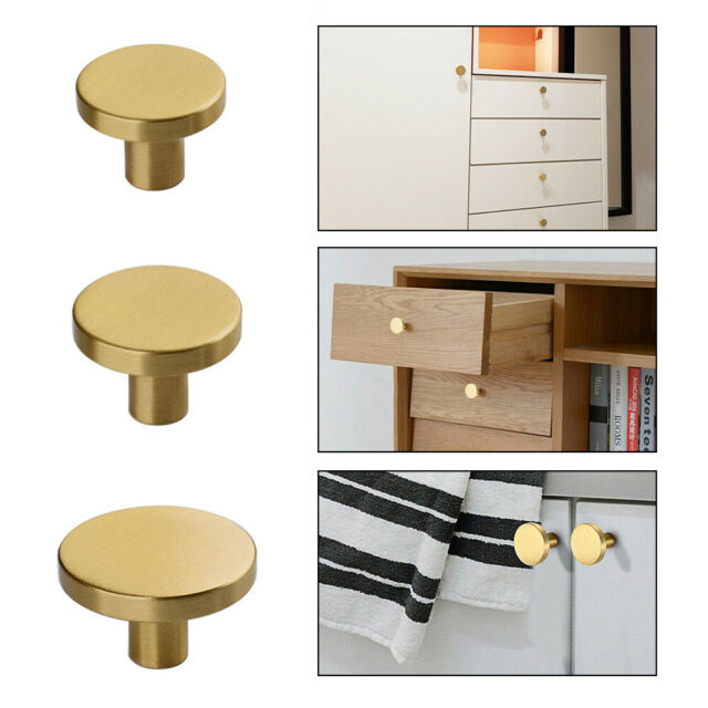 Gold Brass Hexagon Drawer Knobs Cabinet, Furniture Pulls And Handles