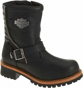 Luxury Harley Davidson Womens Tinley After Riding Boots Style D83560   EBay