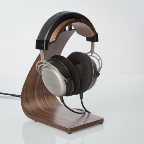 Room ´S FS Audio Line Kopfhörerstativ Headphone Stand Walnut Wood