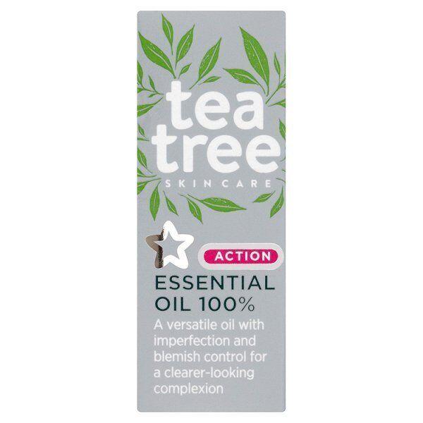 Superdrug Tea Tree Essential Oil 100% - Blemish Pores Acne (BUY 2 GET 1 FREE)