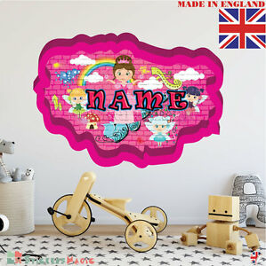 Graffiti 04 Personalised Name Children Room Wall Sticker Decal
